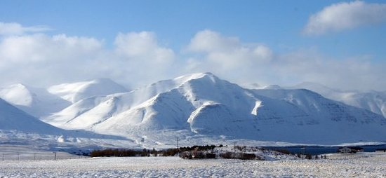 Akureyri, Islande : on the way to Dalvík