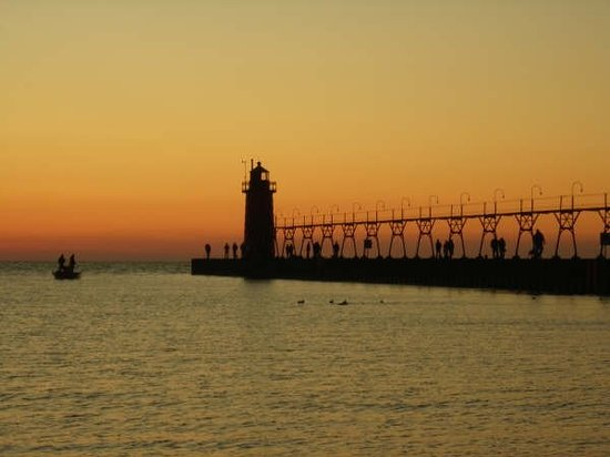South Haven, MI: On the Kal-Haven Trail, October 2008