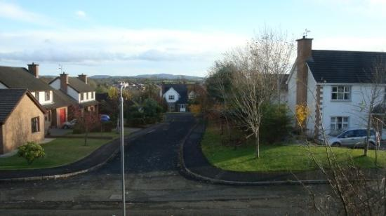 Ballymena, UK: The View from the window in the house!