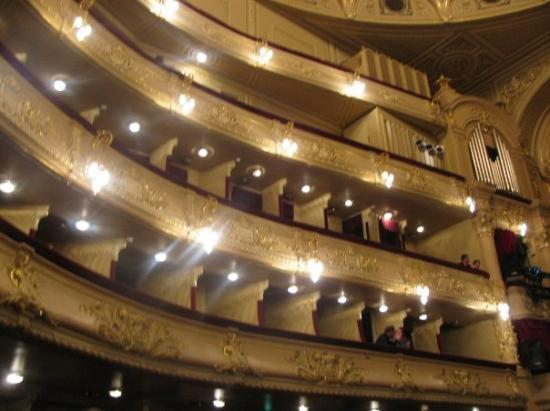 Inside Of Kiev Opera House Picture Of Kiev Ukraine
