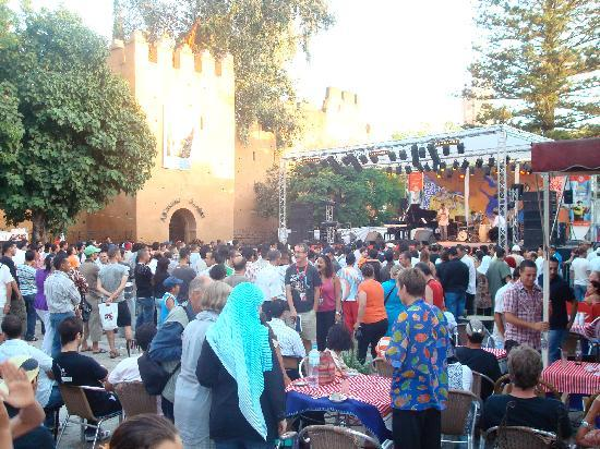 Hotel Dar Terrae: music festival, excellent!