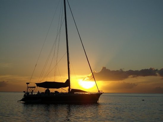 Sunset @ Dominica