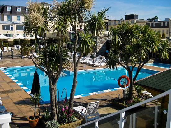 Outdoor pool - Hotel in torquay with indoor swimming pool ...