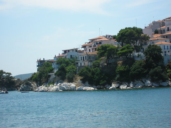 Skiathos, Greece: Old Town