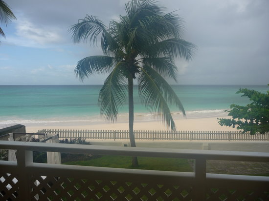Christ Church Parish, Barbados: View from our bedroom window