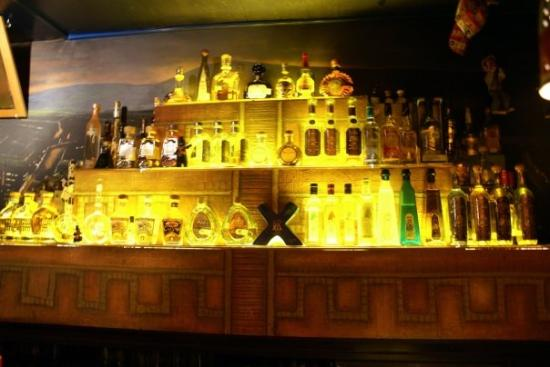 Half of the tequila bar in los pilones amsterdam for Food bar cantina