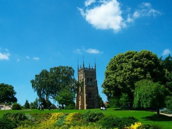 Evesham, UK: Tower from the Abby