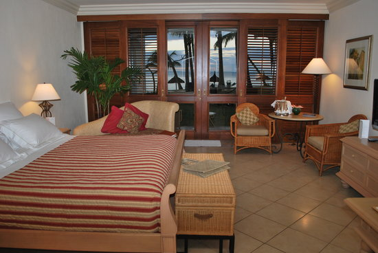 One&amp;Only Le Saint Geran: Bedroom