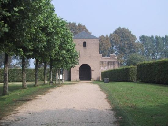 Archaeological Park In Xanten  Germany
