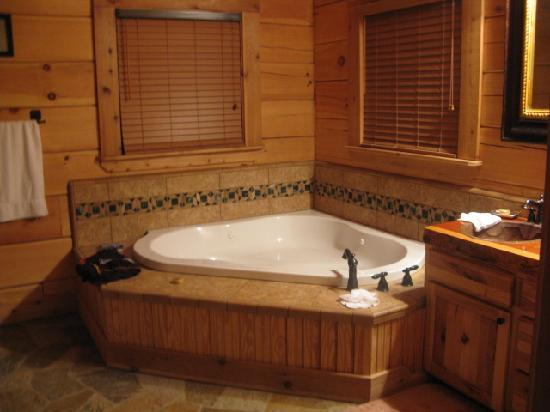 Bathroom hot tubs