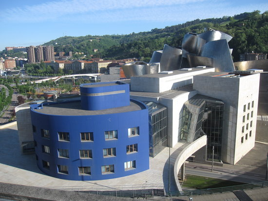 View from roof top at breakfast picture of silken gran - Grand hotel domine bilbao ...