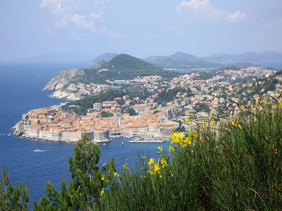 Dubrovnik from afar