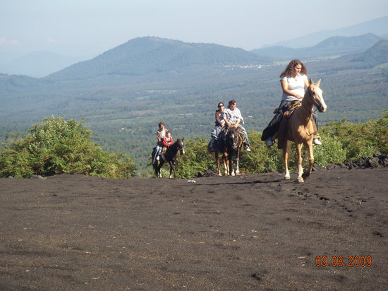 Central Mexico and Gulf Coast, Mexico: Riding to the Volcano