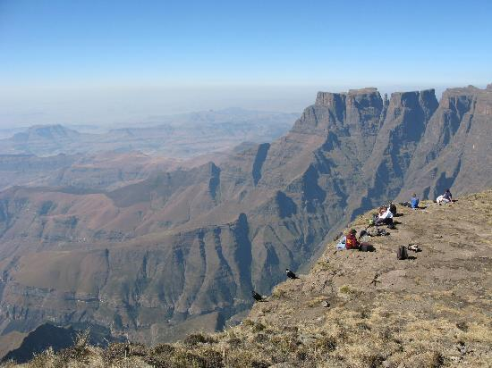 uKhahlamba-Drakensberg Park, Sør-Afrika: View from top of Ampitheatre