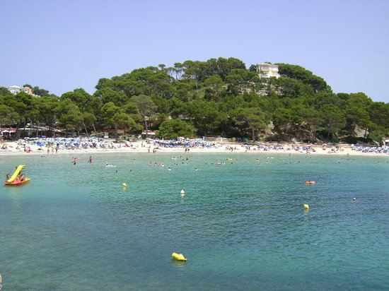 Minorka, spanya: Cala Galdana, Menorca