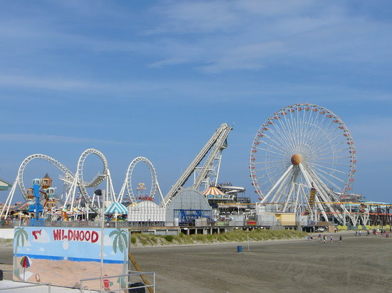 Wildwood, NJ: Mariner&#39;s Landing Pier