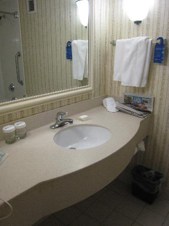 room 410 sink picture of hilton garden inn owings