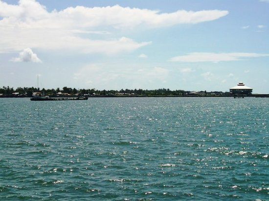 Bacolod pier coastline