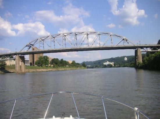 Southside Bridge from the Kanawha RiverCharleston, WV