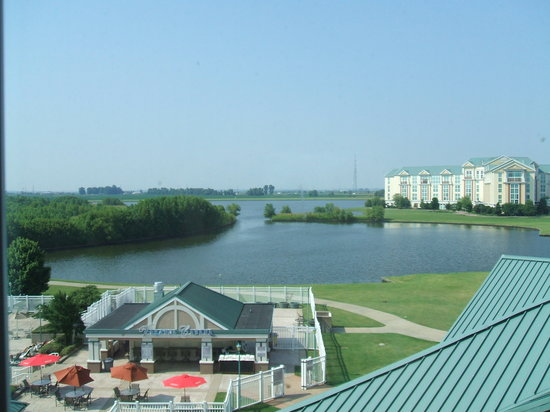 Tunica Resorts, Μισισιπής: view from our room