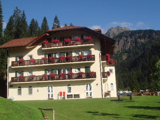 San Martino di Castrozza, Italien: hotel plank