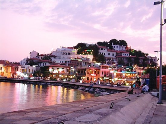 part of Marmaris town