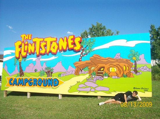 Flinstones Bedrock City