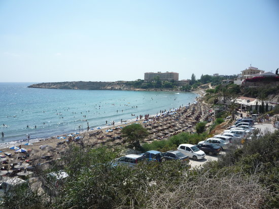 Paphos, Cypern: Coral Bay