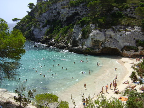 Minorca, Spagna: Cala Macarelleta, Menorca