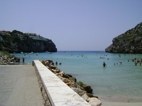 Minorka, spanya: Cala Porter, Menorca