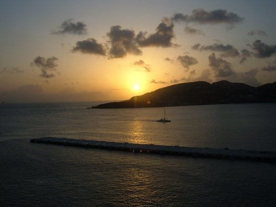 Charlotte Amalie, St. Thomas: St. Marten sunset