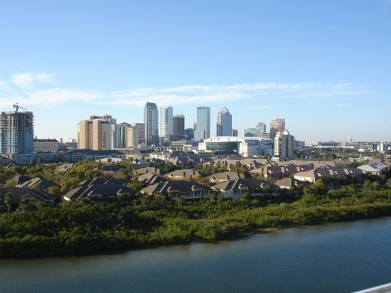 Tampa Skyline, January, 2007.