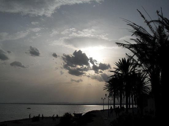 Puesta de sol en Hammamet