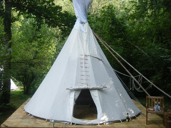 Tipi Holidays in France