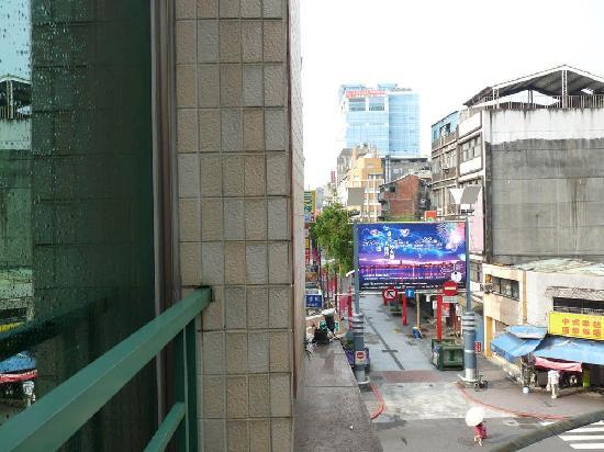 Looking left out of the window ximen shoppin district for Design ximen hotel review