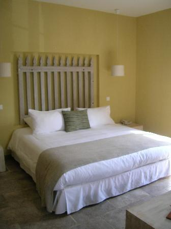 Oletta, France : our bed room 