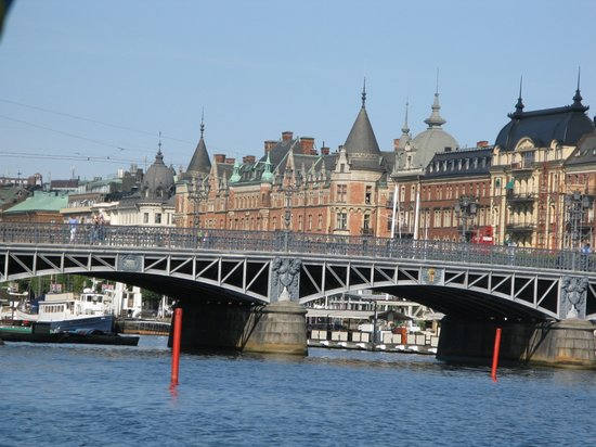 Stockholm, İsveç: From the harbour cruise