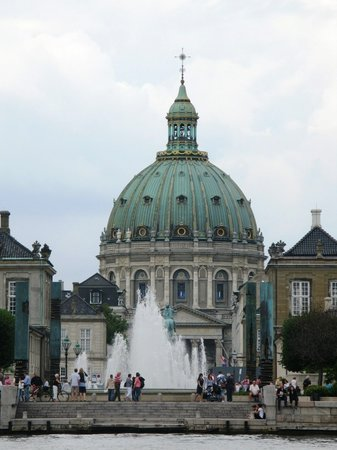 Kbenhavn, Danmark: royal palace