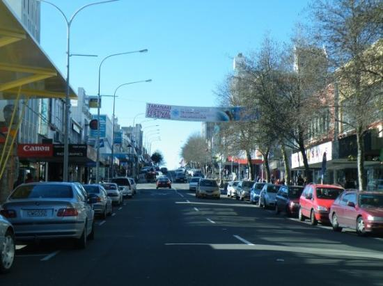 Downtown New Plymouth Picture Of New Plymouth Taranaki