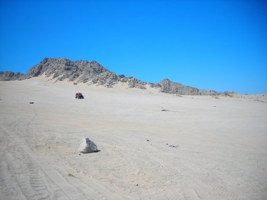 Puerto Penasco, Meksiko: Just finished Competition Hill in the Wrangler.