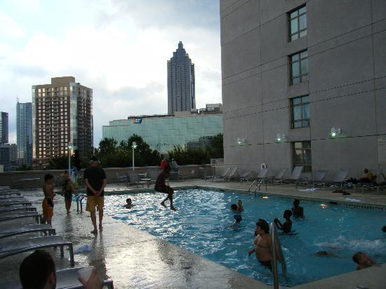 Centennial Olympic Park Picture Of Embassy Suites Atlanta At Centennial Olympic Park