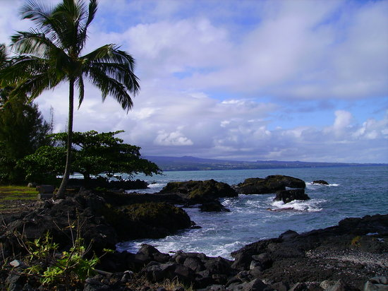 Hilo about 15mins from the port