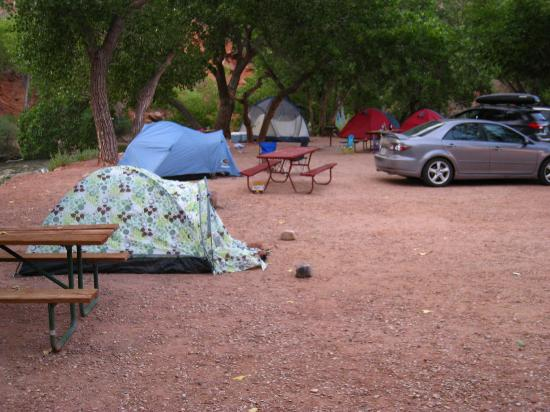 Zion Canyon Campground: campground