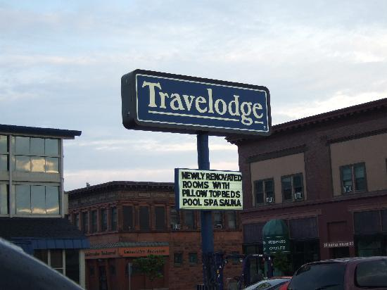 Travelodge Houghton: The sign!