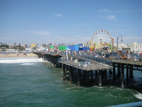 Le Santa Monica Pier, pour tout les fans d&#39;Alerte  Malibu