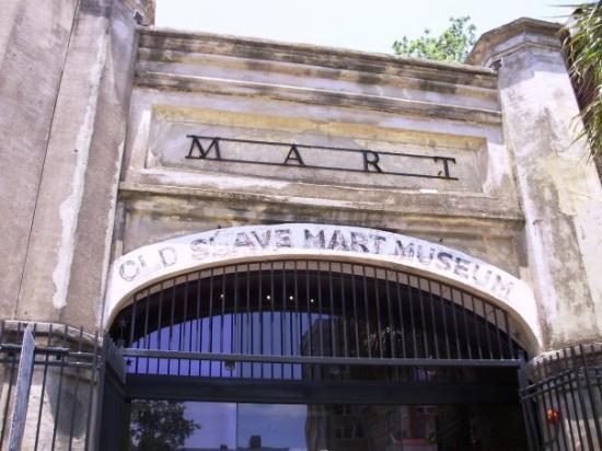 The Old Slave Mart In Charleston Picture Of Old Slave