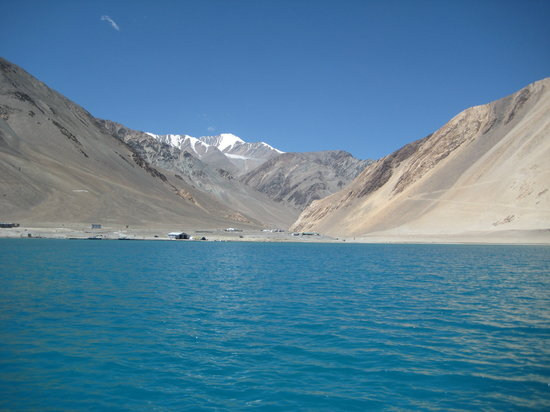 Leh, India: Pangong lake