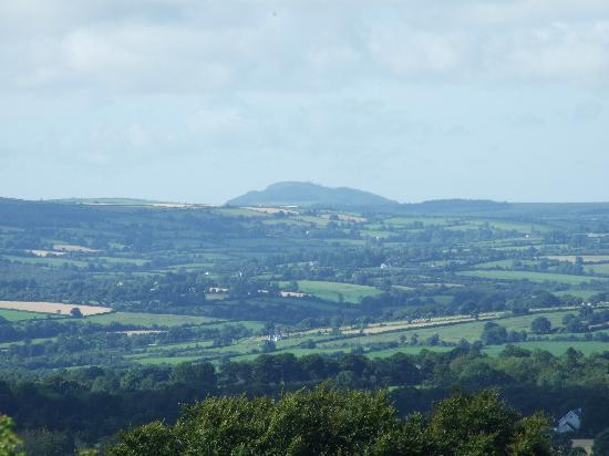 Inistioge, Ireland: View from hill