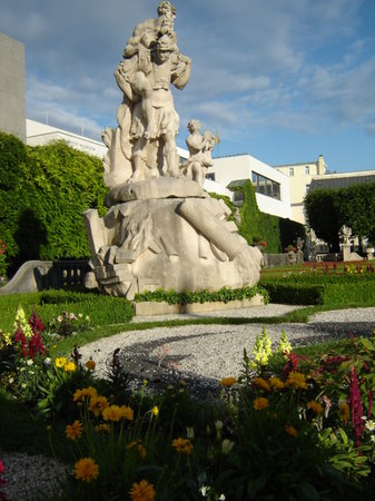 Salzburg, Austria: mirabell gardens 4