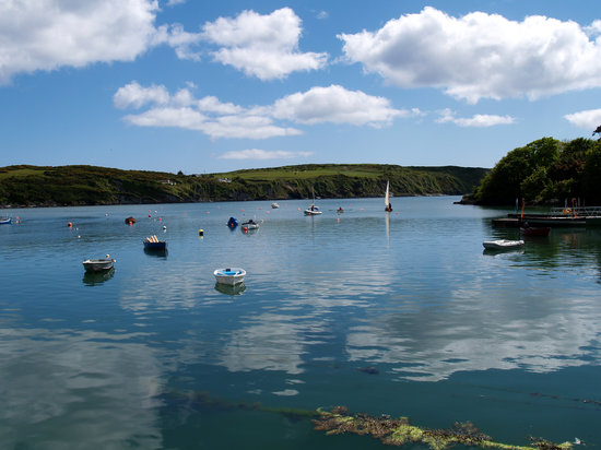 Skibbereen, Ireland: View from the jetty at Castletownshend